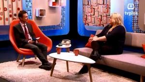 Dierencommunicator Kristina Boey bij TVPlus