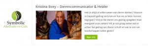 Dierencommunicator Kristina Boey in Symbolic Gids